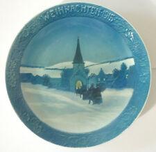 Rosenthal Porcelain Wall Plate/Christmas Plate 1915, Wki , (Art3401)
