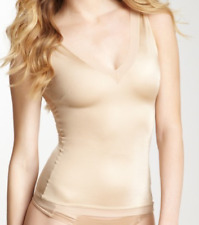 SPANX Slimplicity V-Neck Camisole Shaping Control Cami Tank Top Nude 1X New NWT