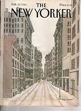 1986 New Yorker February 10 Early morning Soho by Roxie Munro