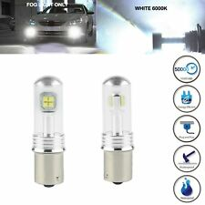2 x 80W White 2525 SMD Led 1156 BA15S P21W Car Backup Reverse Signal Light Bulbs