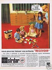 Publicité Advertising 056 1965 Sirdar moquette polyamide