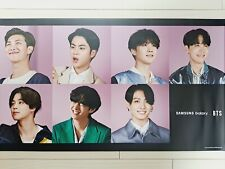 BTS Samsung Galaxy Buds Live Poster Official photograph Bromide limited edition