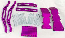 T-Maxx purple anodized aluminum package with free silver dual rate shock springs