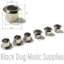 6 Machine head / tuner  ferrules, bushing 6mm shaft 8mm hole for guitar or banjo