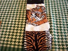 BEAUTIFUL TIGER AND HER BABY SOCKS XL
