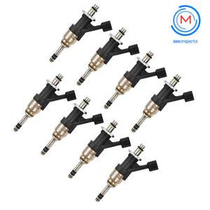 Set of 8 BRAND NEW  Fuel Injectors For GM Trucks 5.3L 2014-17 12668390