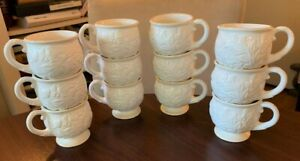 (12) Lenox Butlers Pantry Punch Cups - Very Nice Condition - One Chip