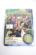 Ben 10 Alien Force Magnetic Creations 37 Piece New Sealed