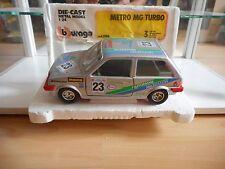 Bburago burago Metro MG Turbo in Grey on 1:24