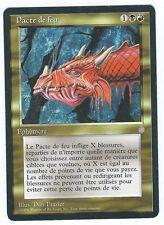 Carte Magic the gathering: Pacte de feu (ed: Ere glaciaire)