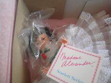 Madame Alexander doll Scarlett Series MIB w/tag d10 white dress