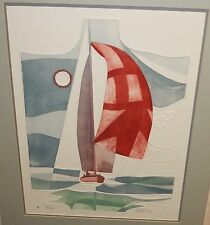 """MARTIN TOBIAS """"SEABREEZE"""" LIMITED EDITION HAND SIGNED EMBOSSED LITHOGRAPH"""