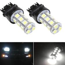 2X White 3157 5050 18-SMD Reverse Backup LED Light Bulb 3156 3057 3456 3757 4114