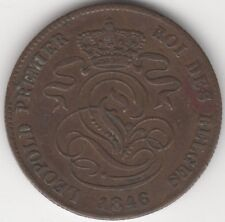 More details for 1846 belgium 2 cent coin   pennies2pounds
