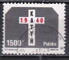 POLEN / POLAND  JAAR 1990 NR. Y&T 3076 ° (L12)