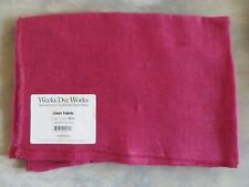 Blush 10/% Off Weeks Dye Works 30 count Hand-dyed Linen