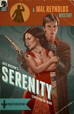 Serenity Leaves On The Wind #1 Print Variant Cover Quinones Pulp Homage Firefly