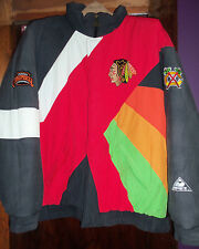 Vintage Chicago Blackhawks Apex One Limited Edition Jacket 1980s-NHL-RARE-Large