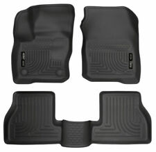 Husky Weatherbeater 2016-2018 Ford Focus Front & Rear Floor Mats 99771