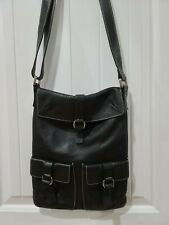 Furla Black Leather  Crossbody Bag