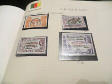 Nigeria & French Cameroun Collection -  selection of stamps