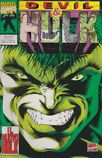 original italian edition comic book DEVIL & HULK # 1  April 1994