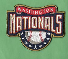 "New Washington Nationals 'Banner' 3 X 4  "" Iron on Patch Free Shipping"