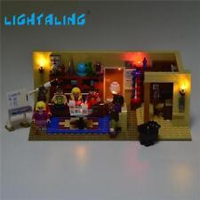 USB LED Light Set Fit To LEGO Big Bang Theory 2130 Set Building Block Gift New