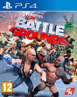 NEW & SEALED! WWE 2K Battlegrounds Sony Playstation 4 PS4 Game