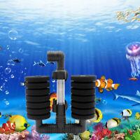 Praktische Aquarium Biochemische Schwamm Filter Fisch Garnelen Tank Luftpumpe