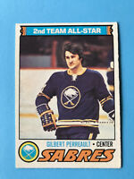 Gilbert Perreault 1977-78 O-Pee-Chee Hockey Card #210 Buffalo Sabres