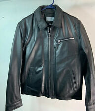 Michael Kors Men's Leather Jacket Size M Black NWT