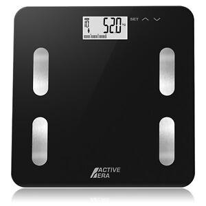 Active Era® Body Fat Scales Bathroom Scales - Ultra Slim Analyser with BMI