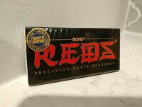 BONES REDS Skateboard Bearings 8-Pack 8mm Precision Size 608 (Standard) SEALED!!