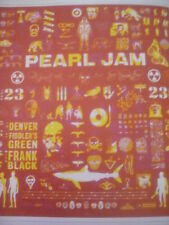 Pearl Jam Denver 1998 Yield Tour Poster 23x20cm from Book to Frame?