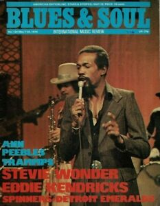 Blues & Soul Magazine 1974     Eddie Kendricks      Fatback Band      Trammps