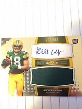 2011 Topps Finest RANDALL COBB Autograph And Jersey Card # 378/589