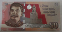 Russia 50 Rubles 2021 Joseph Stalin. Great politicians of USSR UNC