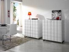 W-752 Dupen Design Sideboard Hochglanz Weiß Kommode Schrank Anrichte Highboard