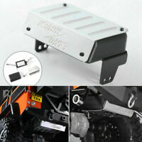 Fuel Tank + Exhaust Pipe Auspuff Upgrade Für Traxxas TRX-4 Land Rover RC Metall
