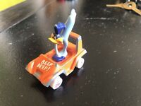 ERTL Looney Tunes Road Runner Orange Diecast Car Vintage 1988 - Made in USA