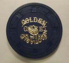GOLDEN GATE CASINO NN Non Negotiable Casino Chip Las Vegas Nv  Blue C&J