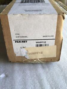 Panduit - WMPF1E - Horizontal Cable Manager - Black - 2U