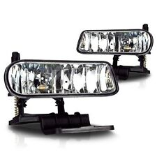 99-02 Chevy Silverado HD DURAMAX Fog Lights Clear OEM Replacement Lamps Pair