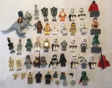 LEGO Star Wars (genuine Lego) Mini Figs In Great Condition.