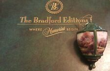 Thomas Kinkade Bradford Editions Heirloom Ornament Lite Cover Garden Spring Gate