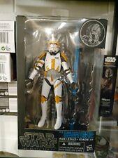 Star Wars Black Series Clone Commander Cody Blue Line NIB
