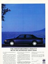 1994 SAAB 9000CD - Original Advertisement Print Art Car Ad J604