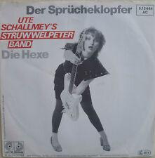 """7"""" UTE SCHALLMEY´S STRUWWELPETER BAND Der Spücheklopfer"""