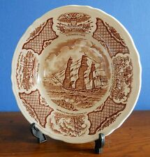 """An Alfred Meakin Fair Winds 9"""" soup bowl – The Grand Turk under full sail"""